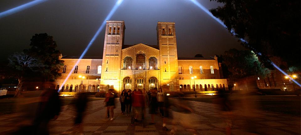 ucla campus at night - photo #25
