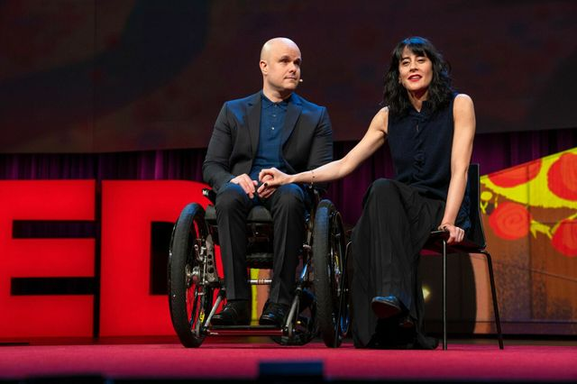 Photo of Mark Pollock and Simone George