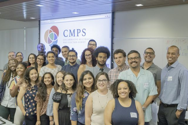 Participants of the 2018 Collaborative Multiracial Post-Election Survey meeting