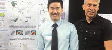 Douglas Yao with his faculty mentor Thomas Graeber