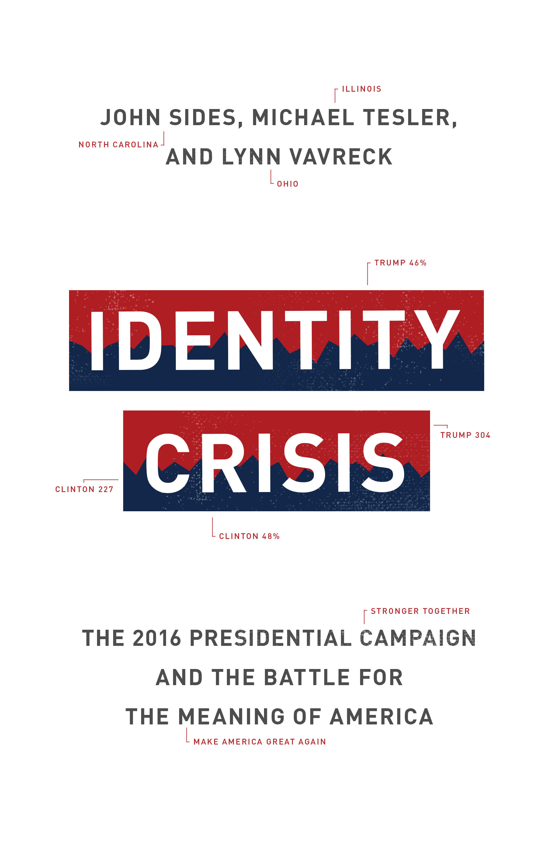 "Photo of the bestseller ""Identity Crisis"""