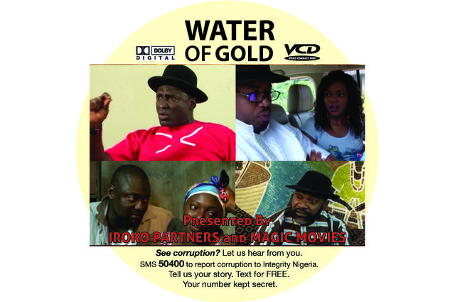 Photo of the DVD cover for the Nollywood film 'Water of Glod'.