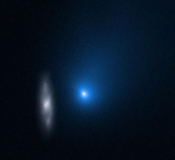 Image of interstellar comet.