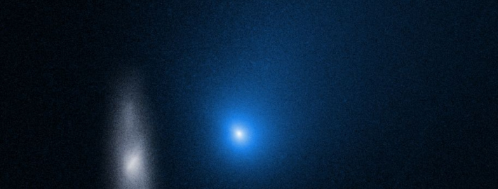 Image of interstellar comet.