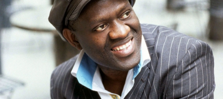 Photo of Alain Mabanckou.