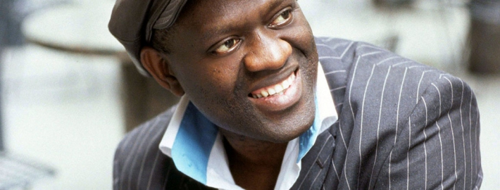 Photo of Alain Mabanckou.