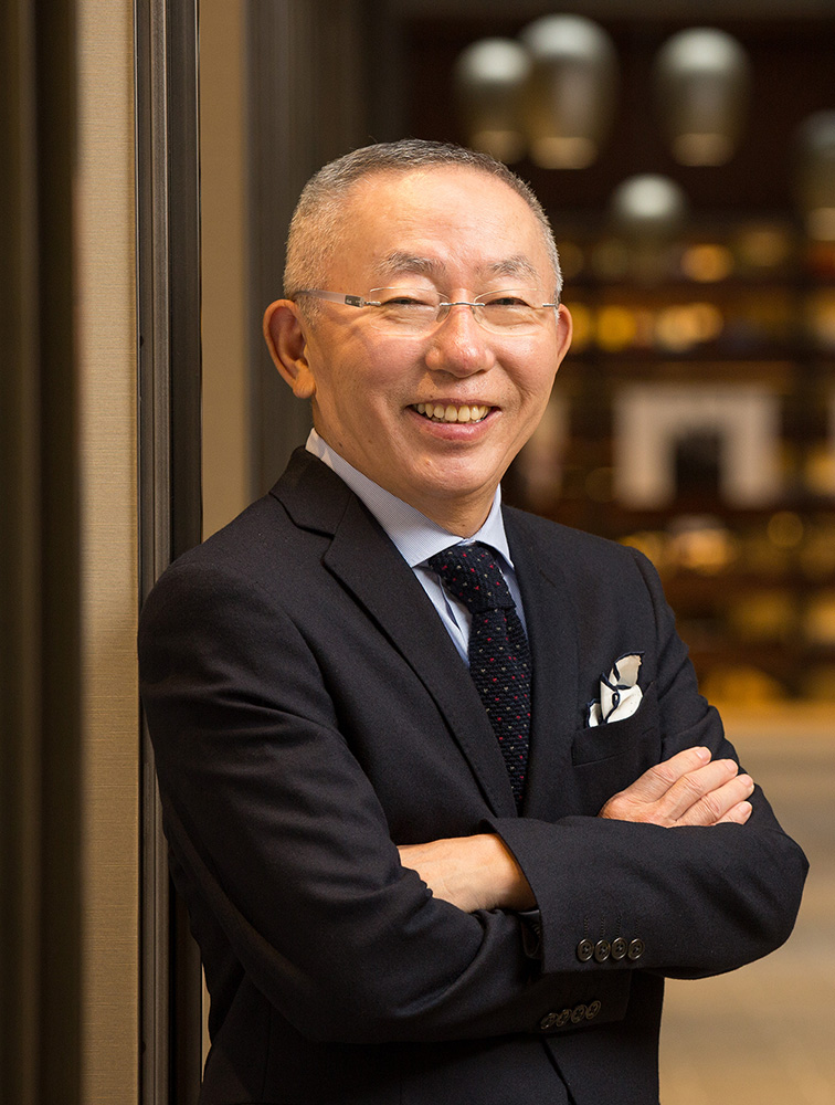 Photo of Tadashi Yanai