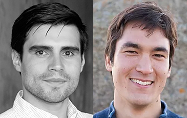 Photos of UCLA College professors Jose Rodriguez and Erik Petigura.