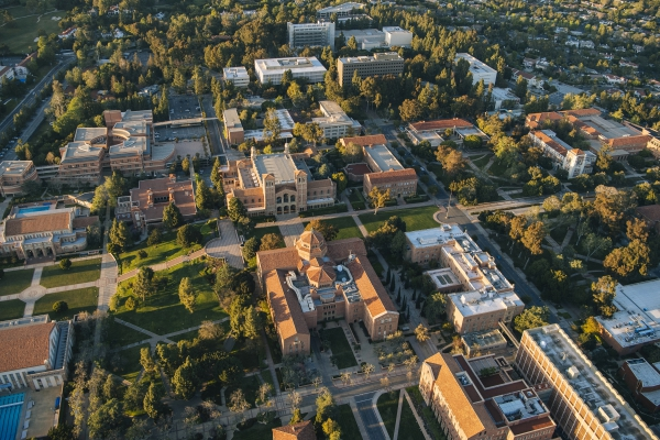 A photo of the UCLA campus.