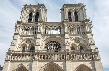 A photo of Notre-Dame.
