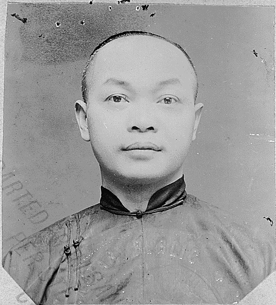 A photo of Wong Kim Ark, whose U.S. Supreme Court case led to a change in citizenship laws.