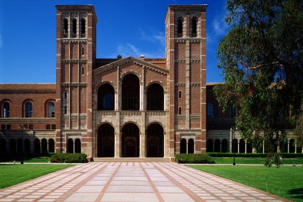 A photo of Royce Hall.