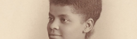A photo of Ida B. Well.
