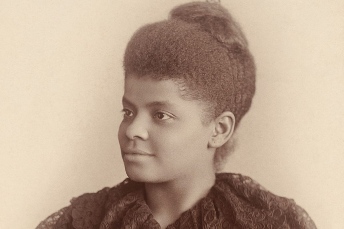 A photo of Ida B. Well.