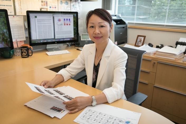 A photo of Professor Lili Yang.