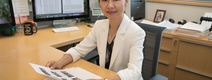 A photo of Professor Lili Yang.