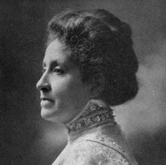 A photo of Mary Church Terrell.
