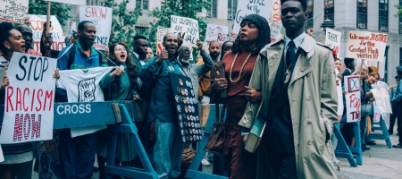 """A still from the Netflix limited series """"When they See Us."""""""