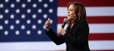 A photo of Kamala Harris.
