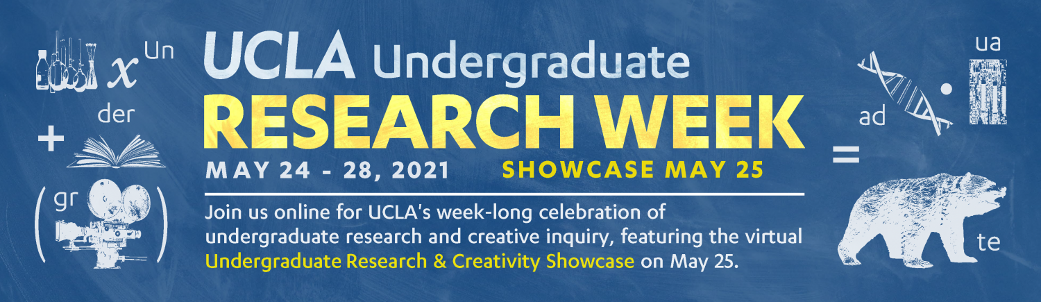 A graphic for Undergraduate Research Week
