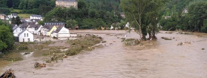 Flooding in Altenahr, Germany in July 2021 Photo Credit: Martin Seifert