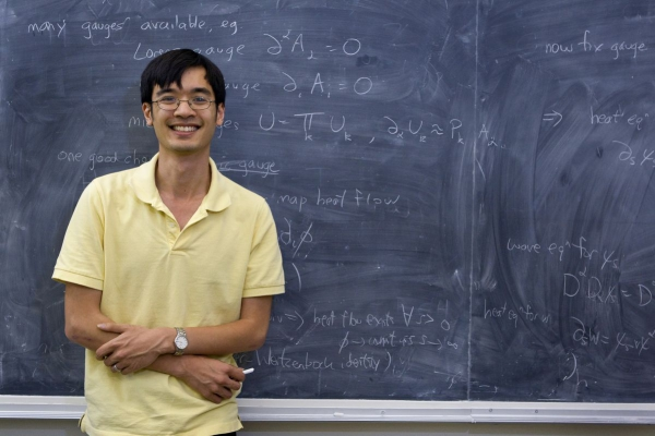 Terence Tao in his UCLA office